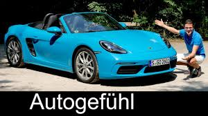 miami blue porsche boxster porsche 718 boxster full review test driven 2018 autogefühl
