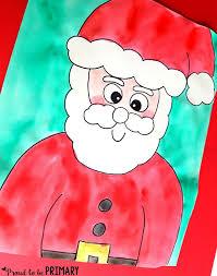 Primary Christmas Crafts - adorable santa christmas crafts for kids landeelu com