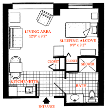 Small Apartment Layout Efficiency Apartment Layout Rustic Royalsapphires Com