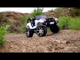 lifted truck rubber tires big toys power wheels ride toddler