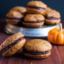 thanksgiving whoopie pies pumpkin whoopie pie