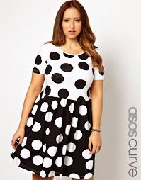 30 polka dot pieces for plus size ladies babble
