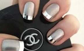 chrome nail polish mirror powder gel sally hansen gold silver
