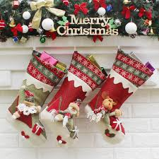 online buy wholesale christmas socks decor from china christmas