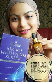 Serum Awra awra hq jom follow si adikmanis pakai serum