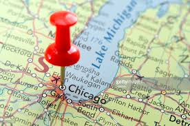 chicago map chicago map stock photo getty images