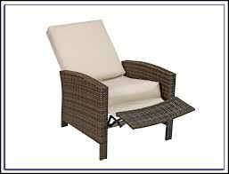 Recliner Patio Chair Reclining Patio Chair With Footrest Patios Home Decorating Garden