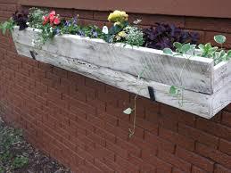 yorkshire self watering vinyl window box planterindoor planter