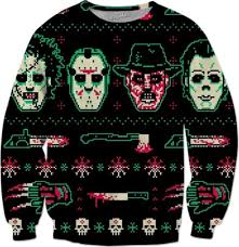horror sweater horror sweater awesome gift merry x m