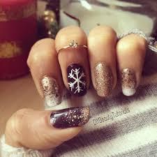 christmas new year u0027s nail design nailed it christmas new year