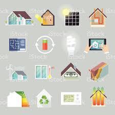 energy saving house stock vector art 467281976 istock