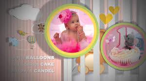 Baby Photo Album Birth Announcement Happy Birthday Photo Album And Baby Shower