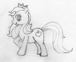super mario mlp crossover sketch by maxwellmudd on deviantart
