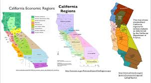 Los Angeles Regions Map by The Regionalization Of California Part 1 Geocurrents