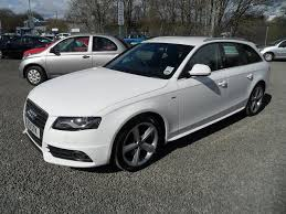 audi a4 used used 2008 audi a4 estate white edition 2 0 tdi 143 s diesel for