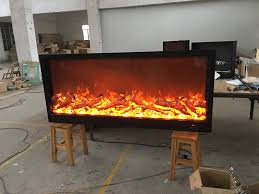 perfect size electric decorative fireplace excellent lighting