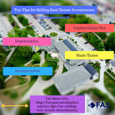 tax tips for selling real estate investments fas cpa u0026 consultants