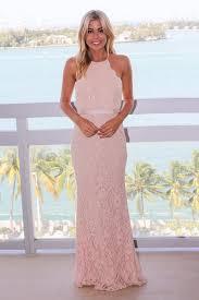 blush maxi dress blush lace maxi dress with criss cross back maxi dresses saved