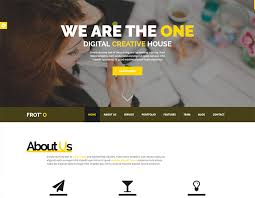 froto free corporate html template readytheme