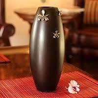Wood Vases For Sale Vases Art Glass Crystal Wood U0026 Blown Glass Vases Novica
