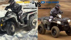 polaris sportsman 570 vs can am outlander l 500 2015 king of
