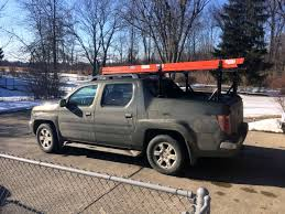 ladder rack situation in need of smarty ideas honda ridgeline