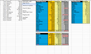 How To A Spreadsheet For Monthly Bills 10 Free Household Budget Spreadsheets For 2017