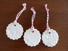 diy clay or salt dough ornaments and tags jen selk