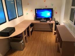 Desk Small Spaces Small Corner Computer Desks Corner Computer Desk With Hutch Modern