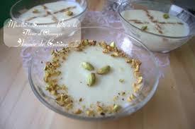 poudre de riz cuisine mhalbi constantinois creme dessert au riz en amour de cuisine