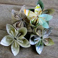 paper flowers how to fold paper flowers just imagine daily dose of creativity