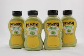 wasabi mustard wasabi mustard 4 pack 12 oz squeeze bottles pilsudski mustard