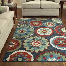 ideas multi color area rugs at walmart for your lovely home