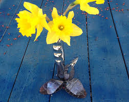 Vase On Sale Knife Flower Vase Etsy