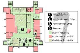 administration office floor plan building directory lamar university