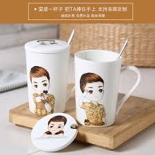 Office Coffee Mugs Online Get Cheap Stylish Ceramic Coffee Cup Aliexpress Com