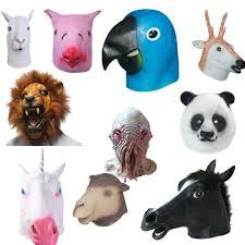 halloween animal masks