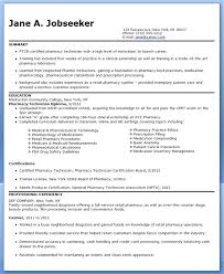 Pharmacist Technician Resume Pharmacy Technician Intern Resume Sample Pharmacist Writing Tips