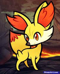 how to draw fennekin pokemon x and y step by step pokemon