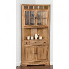 Sunny Design Furniture Designs Sedona Corner China Cabinet 2451ro
