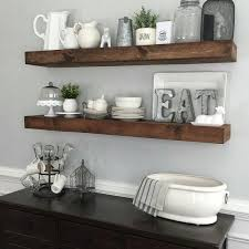 Home Goods Reno by Shanty2chic Dining Room Floating Shelves By Myneutralnest