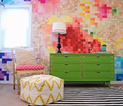 wohnideen farbe wandgestaltung 15 originelle diy wohnideen für ihre wanddekoration