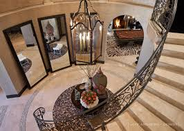 khloe home interior floor mirrors in curved entry way jeff design foyers