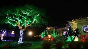the 10 artistic tree made of lights on wall home