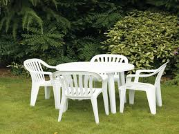 Patio Furniture Walmart Patio 21 White Plastic Patio Table And Chairs Walmart Plastic