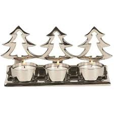 christmas tea light candle holders straits 3 candle tea light holders the style 16973 silver