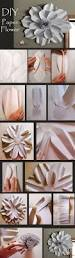 How To Make Home Decorative Things by Best 25 Paper Flower Tutorial Ideas On Pinterest Paper Flowers