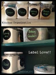 storage and organization for baking supplies frazzled joy