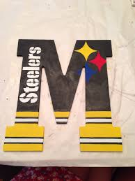 good idea and can be used with other letters teams steelers
