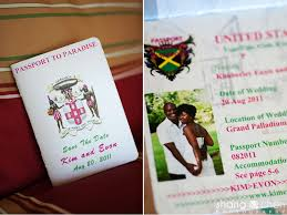 wedding invitations jamaica and evon married destination wedding in jamaica saavedra